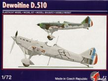 Pavla 72065 Model Kit 1/72 Dewoitine D.510